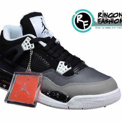 competitive price 6e910 e5f66 Zapatillas Nike Air Jordan Retro IV 4 Fear Pack