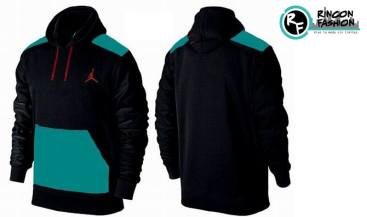 venta polera jordan retro black green rinconfashion
