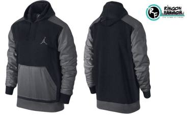 venta polera jordan retro black grey rinconfashion
