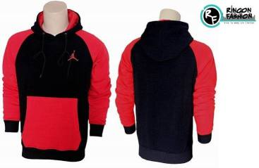 venta polera jordan retro black red rinconfashion