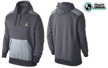 venta polera jordan retro grey rinconfashion