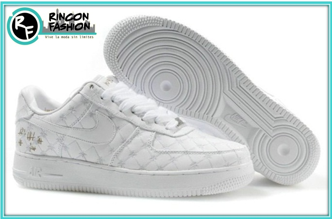 dea90a12cb351 Zapatillas Nike Air Force 1 Crazy Moda 2015